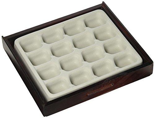 Jewelry Tablett Display Tiefziehteil 5-Fach Valet Stack \'em Multifunktionale Home Schublade Organizer Axis 2702