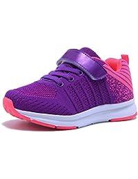 14673508b06e51 JOYORUN Kinder Sneaker Mädchen Turnschuhe Laufschuhe Jungen Hallenschuhe  Outdoor Sportschuhe Schuhe Low-Top für Unisex