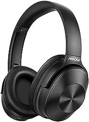 Mpow Hybrid Active Noise Cancelling Headphones, Bluetooth Headphones Over Ear [2019 Version] with Hi-Fi Deep B