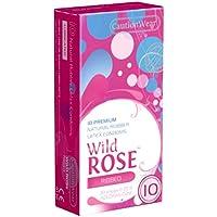 CautionWear Wild Rose - 10 Kondome mit Rippen, mehr Stimulation und aufregende Gefühle preisvergleich bei billige-tabletten.eu