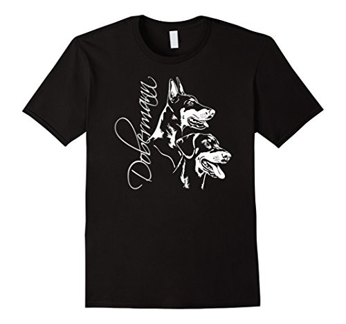 dobermann-breed-dog-tee-shirt-t-shirt-gift-herren-grosse-l-schwarz