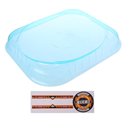 Hoiert New Big Beyblade Bey Stadium Combat Arena Attack Battle Top Plate As The Picture Shown Blue