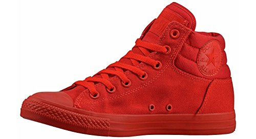 Converse Jungen Boy Sneaker Gr. 36 (US4) Schuhe blau Chuck Taylor All Star CT HIGH TOP *** FRESH BLUE *** 650516F Canvas Red