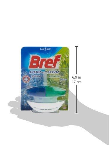 Bref Duo Activ Panier WC Vert 50 ml