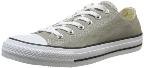 Converse All Star Ox Canvas Seasonal, Chaussures de Gymnastique mixte adulte Old Silver