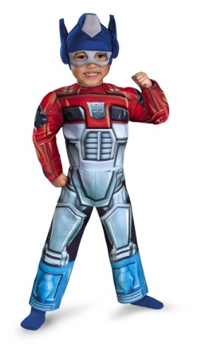 Disguise Transformers Rescue Bots Optimus Prime Toddler Muscle -