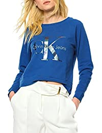 Sweatshirt Calvin Klein Jeans Hanna Blue