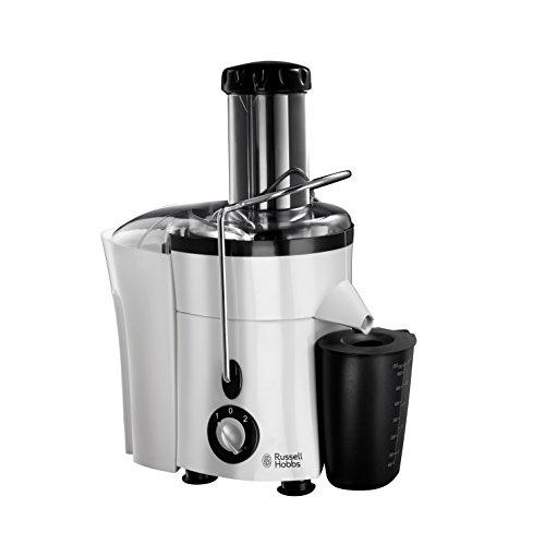 Russell Hobbs 20365-56 Aura Entsafter, 2 Geschwindigkeitsstufen, 2 L Fruchtfleischbehälter und 700 ml Saftbehälter