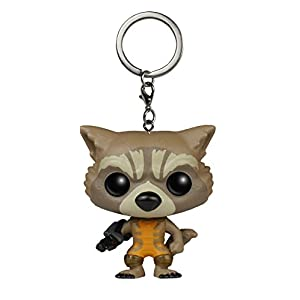 Funko Pop Llavero de Rocket Raccoon (Guardianes de la Galaxia) Funko Pop Guardianes de la Galaxia