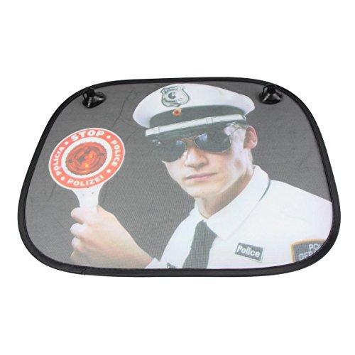 Preisvergleich Produktbild Donkey Auto-Sonnenschutz Polizist, Stop! Police!, Blind Passengers, 310202