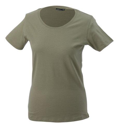 JAMES & NICHOLSON T-shirt Basic - T-shirt de Maternité - Femme Vert (khaki)