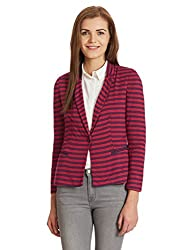 UCB Womens Jacket (15A2ST4E9291I901_Red and Blue _40)