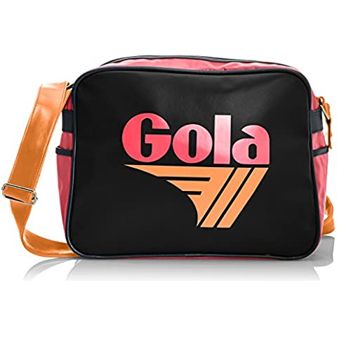 Gola Classics - Borsa messenger Redford Cub 901, Unisex - (Orange Messenger)