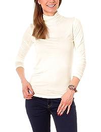 ba68e92704f4 Suchergebnis auf Amazon.de für  langarmshirt wollweiss damen  Bekleidung