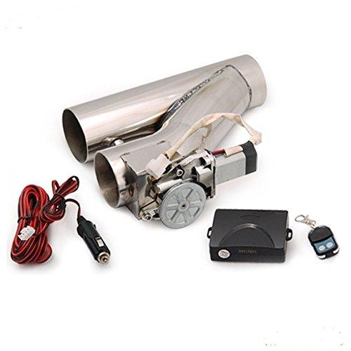 Valvola di Scarico Bypass Telecomando Marmitta Inox 63,5 mm Apertura Regolabile