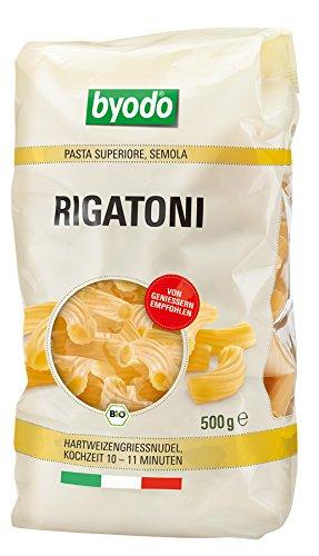 Byodo Bio Rigatoni, semola (1 x 500 gr)
