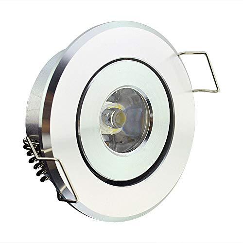 Woerled 1x LED Super Brillante Empotrable Techo Proyector Redondo Ahorro de energía...