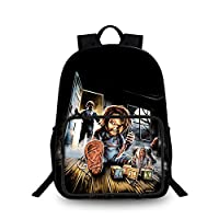 Good Guys Chucky Backpack Backpack Schoolbag Student Lightweight Trekking Backpack Hiking Bag Cute Cartoon 3D Cute Pattern Children Small School Bag Good Guys Chucky Casual Backpack