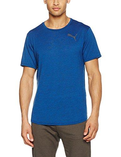 Puma Men's Dry-release maglietta novità true blue heather