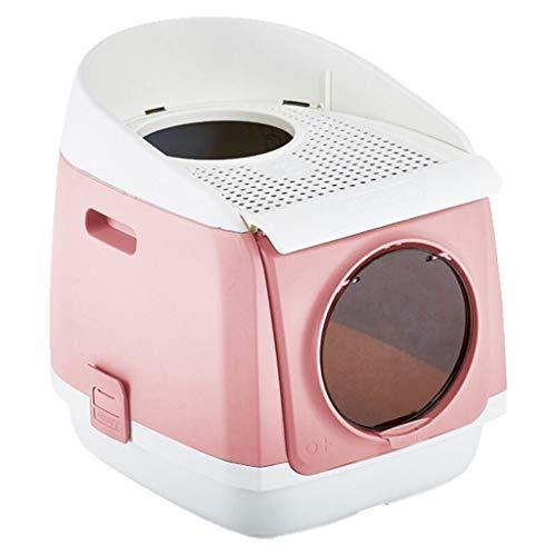 Zxb-shop Toilette per Gatti da Esterno per Gatti (Color : Pink)