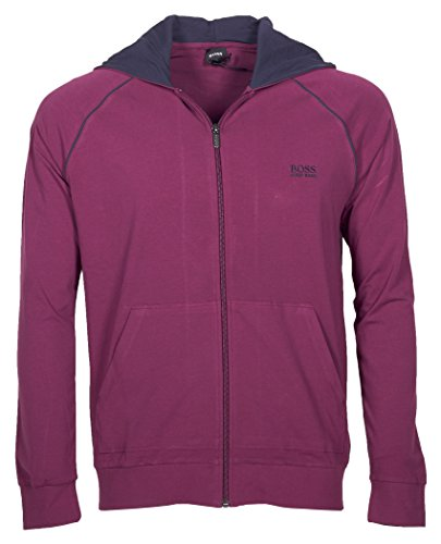 BOSS Hugo Boss Herren Kapuzenjacke Mix&Match Jacket H 10143871 02 (XXL, Violett (Dark Purple 506))