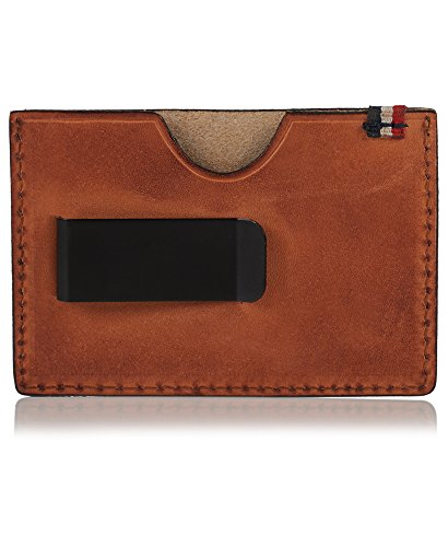 Superdry Leather Card Holder (Brown) Image 3