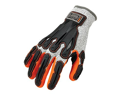 ProFlex 922CR 2x große Schnittschutzhandschuh, Klasse 5Schnittfest Nitril getaucht Dir Handschuhe–Grau–parent, 922CR