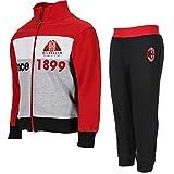 Tutina Bimbo Milan Tuta Calcio Abbigliamento AC Milan PS 27897-36 Mesi