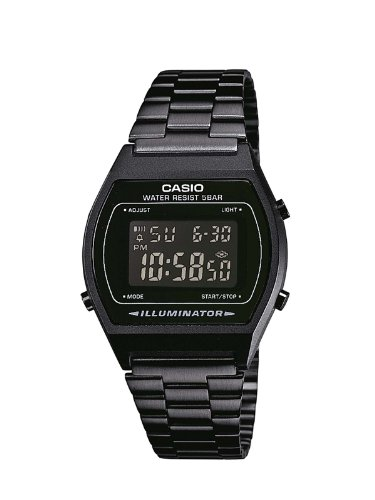 Casio Collection Unisex Retro Armbanduhr B640WB-1BEF (Rolex-herren-uhr)