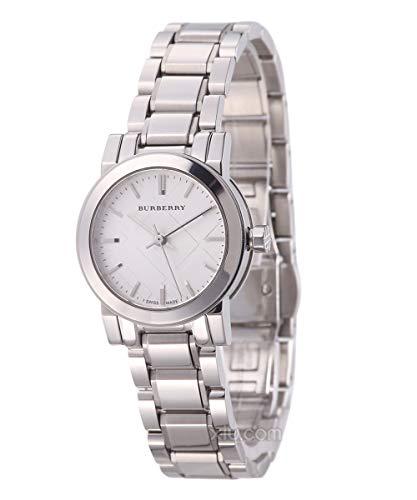Burberry Burberry - Reloj de pulsera mujer, acero inoxidable, color plateado