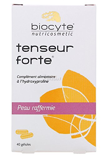 Biocyte - Tenseur forte anti - âge peau raffermie, complément alimentaire a l'hydroxyproline