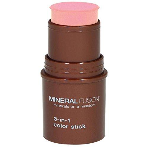 3-in-1 Color Stick, Rosette, .18 oz (5.1 g) - Mineral Fusion