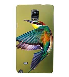 EPICCASE King Fisher Bird Mobile Back Case Cover For Samsung Galaxy Note Edge (Designer Case)