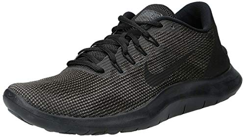Nike Herren Flex 2018 RN Laufschuhe, Schwarz Black/Dark Grey/Anthracite 002, 44 EU