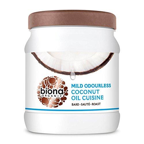 Biona Organic Kokosöl 800g zum Kochen, Braten und Rösten - Die gesunde Alternative zu anderem Speiseöl (Kochen Roste)