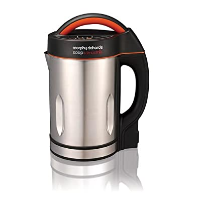 Morphy Richards 501016 Soup and Smoothie Maker - Silver/Black
