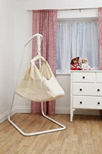 Poco Baby Natures Nest Motion Bed Hammock Package : Colour Raw Cotton Includes Two Fitted Sheets And Carry / Travel Bag