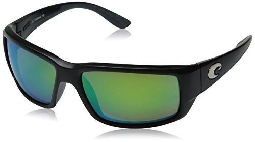 Costa Del Mar Fantail 580P Fantail, Black Green Mirror, Green Mirror