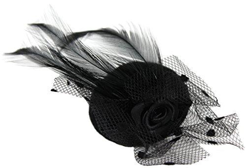Mini chapeau - Noir - Taille unique