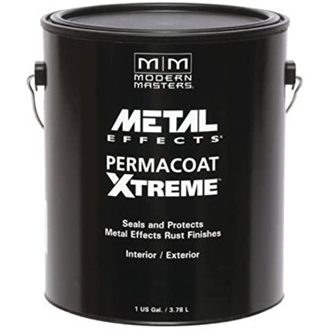 Modern Masters AM204 Permacoat Xtreme Sealer for Metal Effects Gallon by Modern Masters