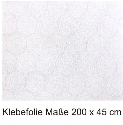 Klebefolie transparent milchig 2mx45cm