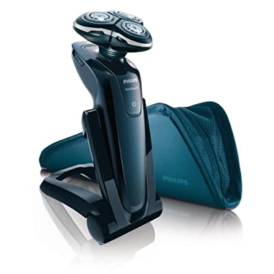 Philips SensoTouch RQ1250 GyroFlex 3D Rotary Rechargeable Shaver with Travel Pouch