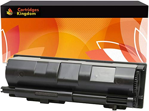 Cartridges Kingdom TK-170 Schwarz Toner kompatibel für Kyocera Mita FS-1320D, FS-1320DN, FS-1370DN - Mita Laser Drucker Patronen
