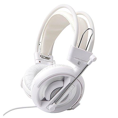 Eblue Cobra HS Gaming Kopfhörer Headsets EHS013WH Weiß