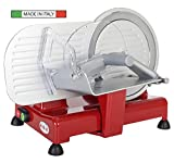 RGV 90248 Affettatrice, 120 W, Alluminio, Rosso