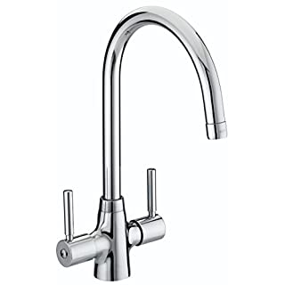 Bristan MZ SNK EF C Monza Easyfit Kitchen Sink Mixer Tap with Swivel Spout, Chrome