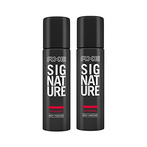 Axe Signature Intense Body Perfume, 122ml (Pack of 2)