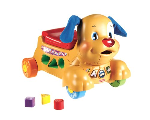 Fisher Price W9788 - Cagnolino Primi Passi Cavalcabile