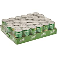 Sprite Regular Carbonated Soft Drink, Cans- 150ml (Pack of 30)