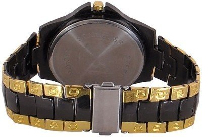 Maan International Combo Of 2 Analogue Multicolor Dial Mens And Boys Watch-M-Combo-S.Black.Rosra+Rosar0904